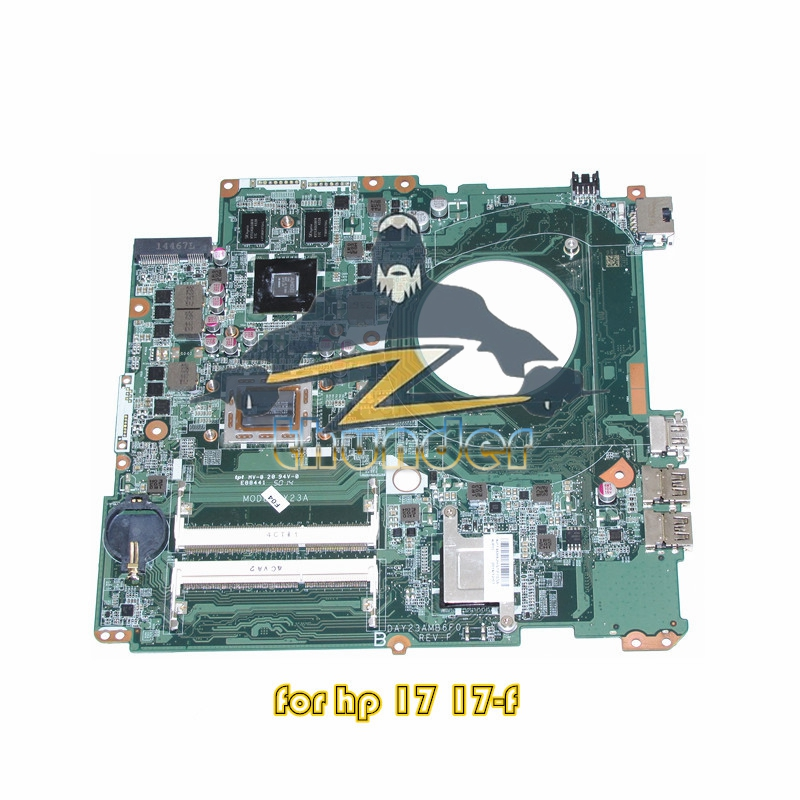 NOKOTION 763428-501 763428-001 DAY23AMB6F0 For HP Pavilion 17 17-F Laptop Motherboard A10-5745M CPU R7 260M 2GB DDR3 цены