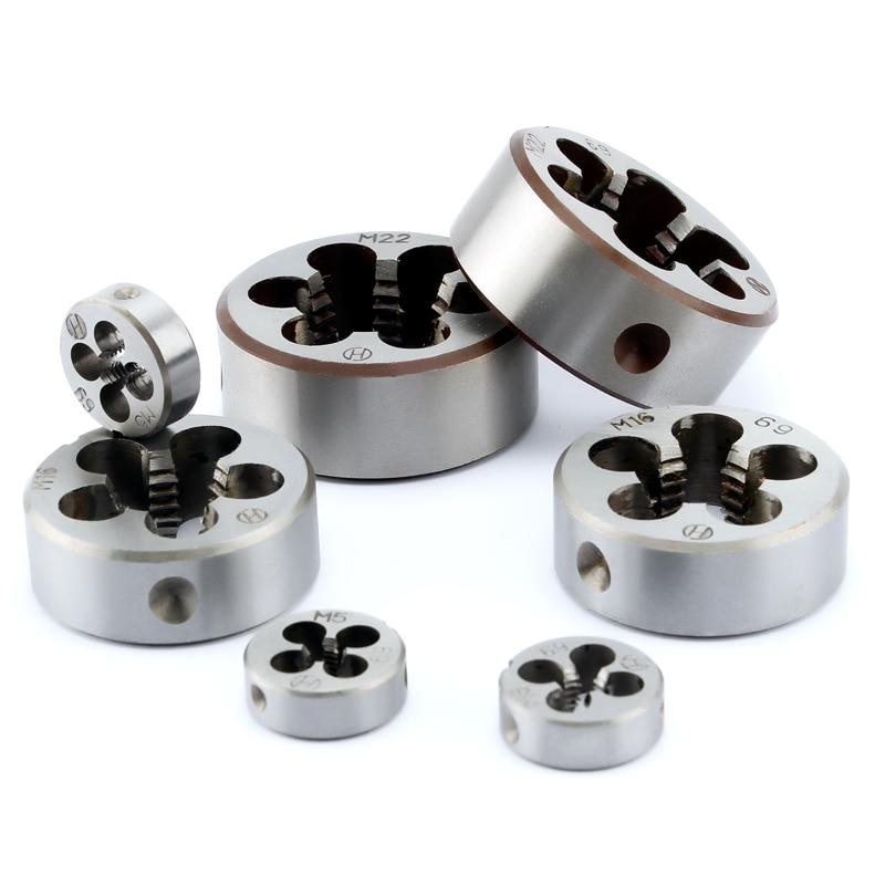 1pc HSS Machine M27 X 3mm Plug Tap and 1pc M27 X 3.0mm Die Threading Tool
