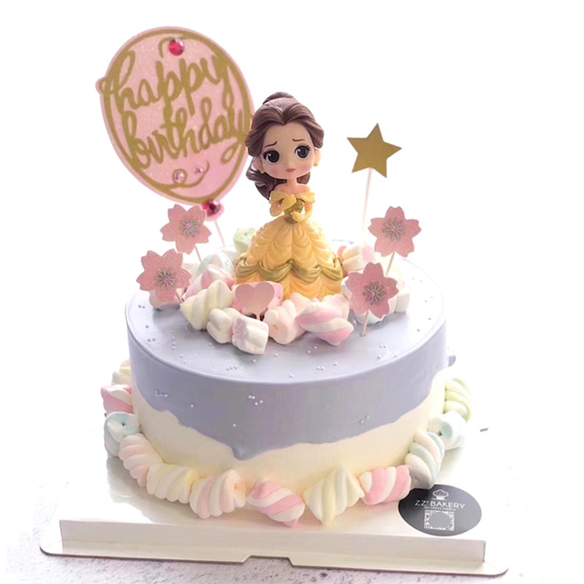 Q posket snow white princess figure belle Glitter Gold Silver Happy ...