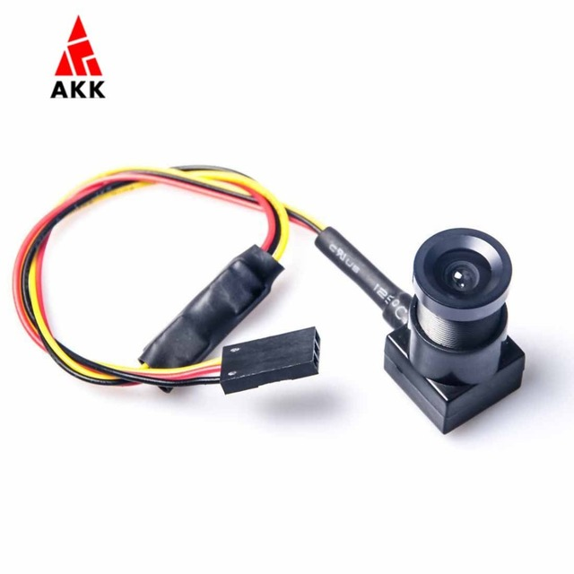 AKK KC25 700TVL 3.6mm Lens NTSC 90 Degree Wide Angle FPV Camera for RC Quadcopter Multicopter