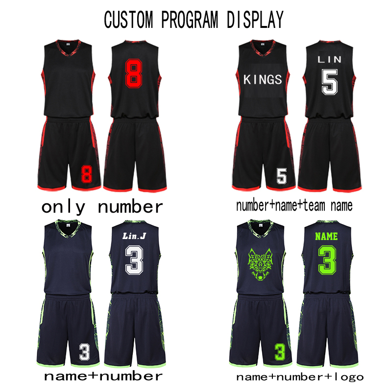 3ac7d5914fd US $19.0 |Customization Team Sportswear Men Basketball Jerseys Kits Best  Quality Adult Suits Outdoors Sports Training Uniform-in Basketball Jerseys  ...