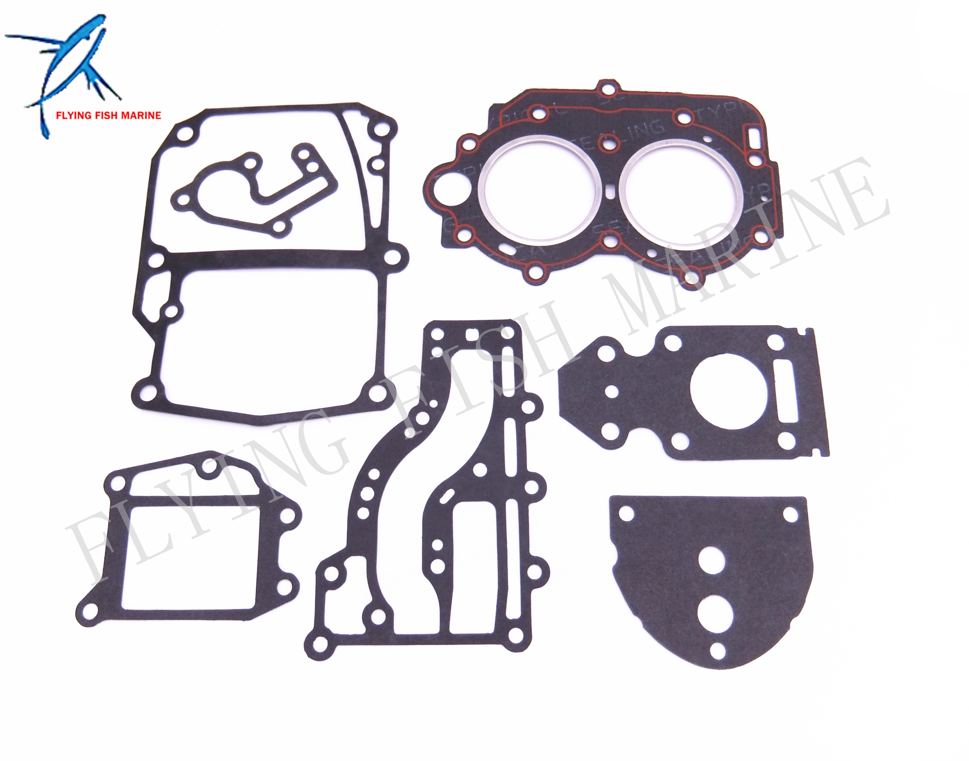 Boat Motor Complete Power Head Seal Gasket Kit for Yamaha 9.9hp 15hp 63V Outboard Engine