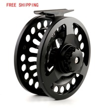 Maxcatch DM 3/4 Weight Fly Fishing Reel Die-casting Fly Fishing Reel Large Arbor Chinese Aluminum Fly Reel