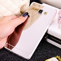 Gold Mirror Soft Case Back Shell Cover For Samsung Galaxy A5 A7 J1 J3 J5 J7 2015 2016 Grand Prime G531H S3 S4 S5 Neo S6 S7 Edge