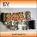 Для Hino грузовик двигатель восстановить комплект W06D W06E поршень + кольцо гильзы цилиндра полный комплект прокладок коленчатого вала и шарово...