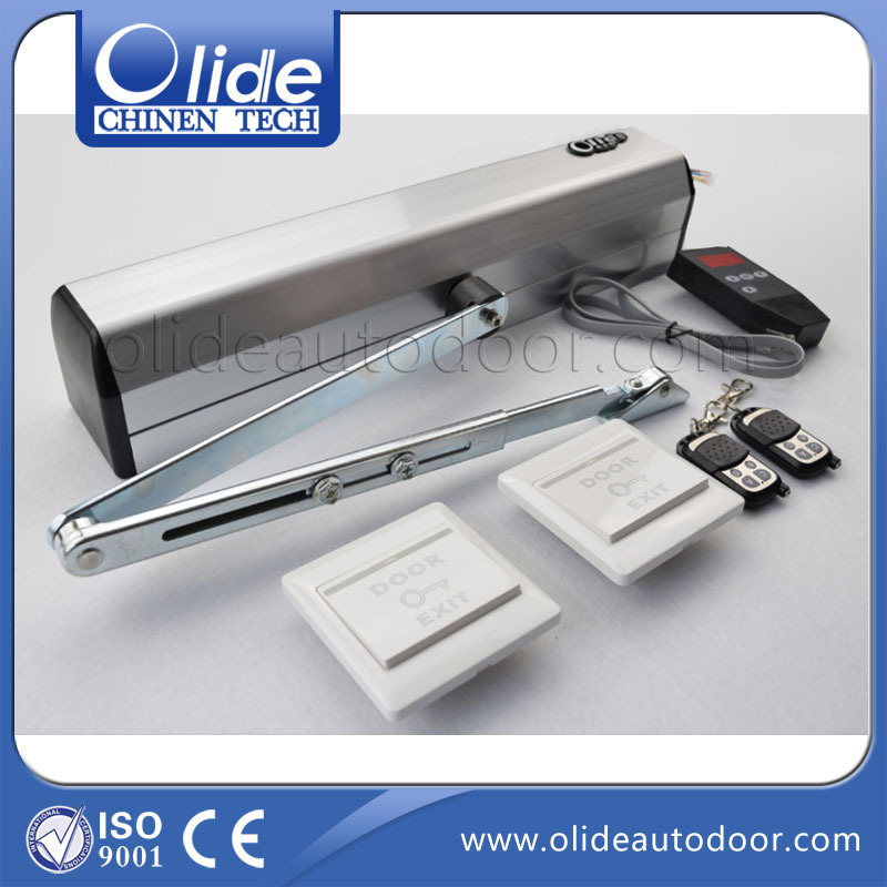 Olide Durable Automatic Interior Swing Wood Door Swing