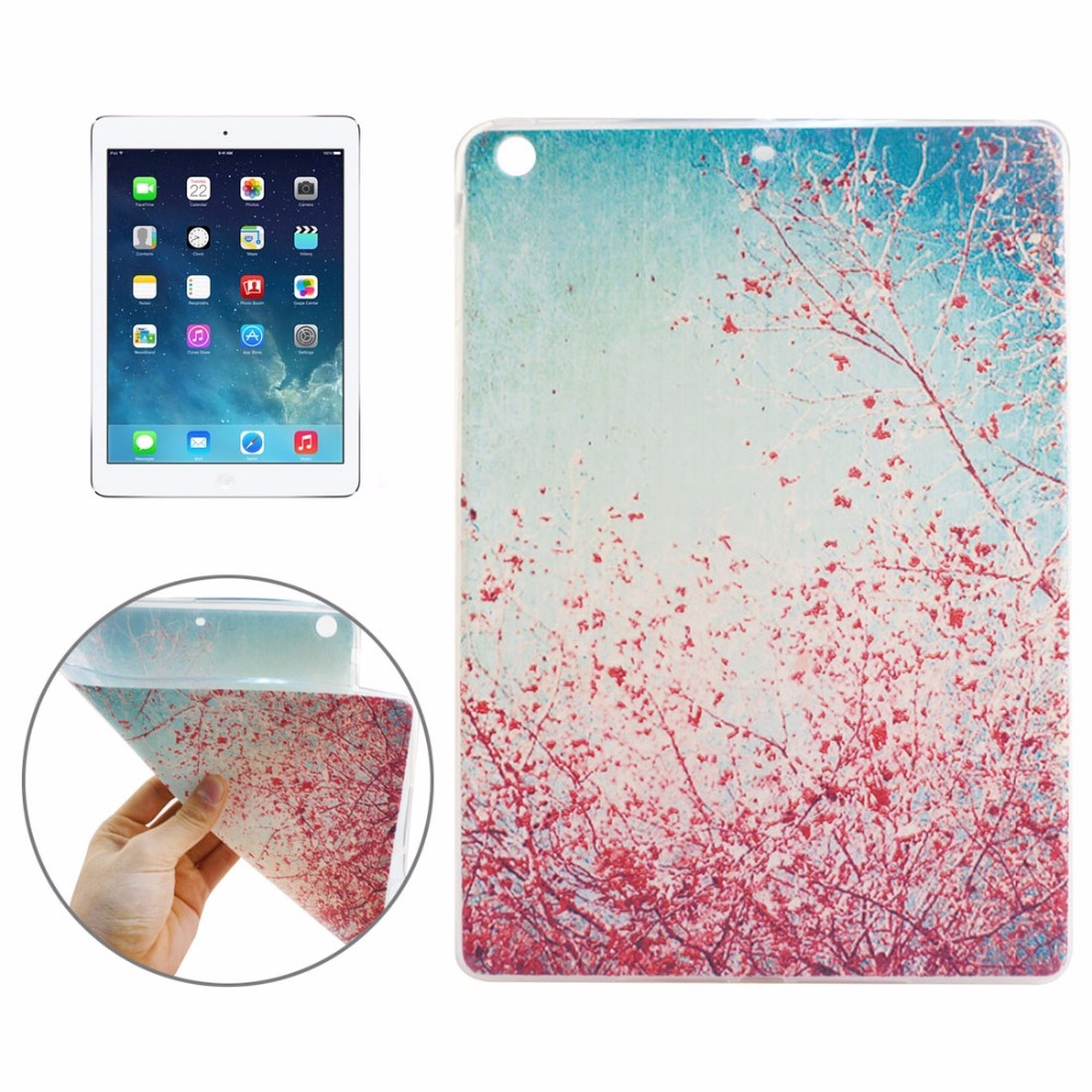 2 Pcs Brand New Pattern TPU Protective Case for iPad Air High Quality Dropshipping (The price is for 2 pcs)