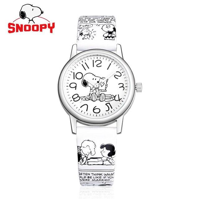 2018 Snoopy men watches classic Cartoon Genuine Brand Casual Fashion Quartz Wris