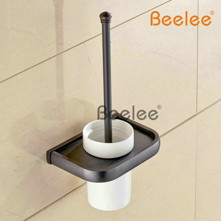 ᗕBeelee BA7404B Bathroom Lavatory Toilet Brush with Holder Wall ...