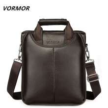 VORMOR Brand PU Leather Men Bags Fashion Male Messenger Bags Men's Small Briefcase Man Casual Crossbody Shoulder Handbag