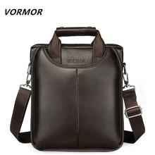 VORMOR Brand PU Leather Men Bags Fashion Male Messenger