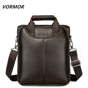 Image 1 - Vormor marca de couro do plutônio dos homens sacos moda masculina mensageiro sacos pequeno homem maleta casual crossbody bolsa ombro
