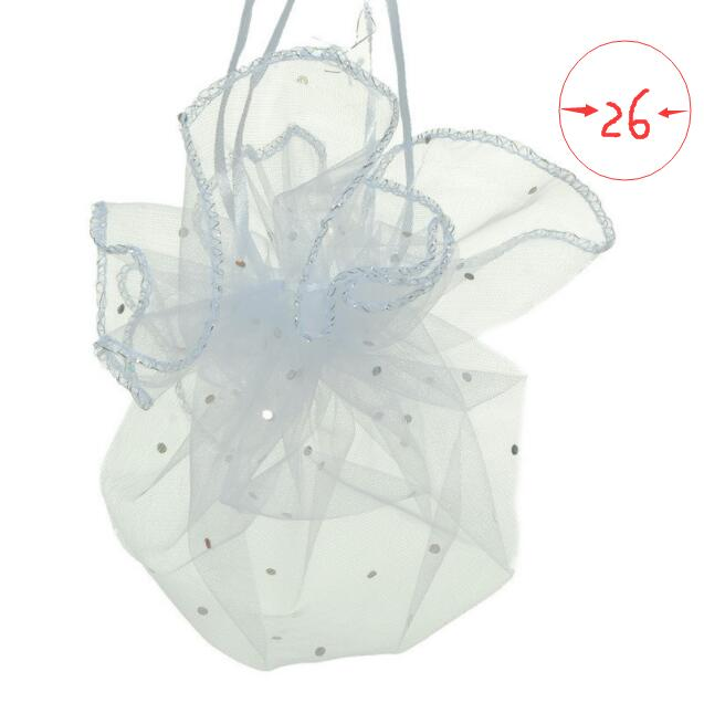 """Lot of 60 Light Pink Romper Baby Girl 5/""""X7/"""" Organza Drawstring Favor Bags OR-L"""
