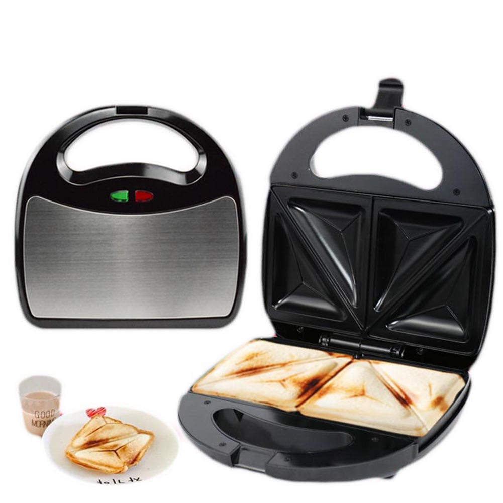Hot New Sandwich Toaster Panini Griddle Maker Electric Grill Waffle Toasters Nonstick Breakfast Cooker HY99 AU01 universal fry griddle 25 black