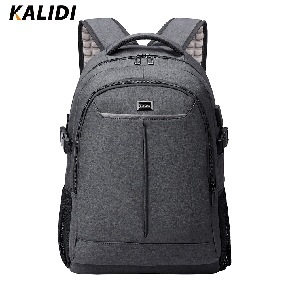 KALIDI Waterproof 40L Large capacity 15 6inch Laptop Backpacks Multifunctional Travel mochila for teenage Classic men