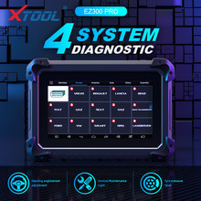 XTOOL EZ300 Pro 4 System Engine Diagnosis tool ABS SRS TPMS read ECU code reader streering Angle sensor adjustment Update Online(China)