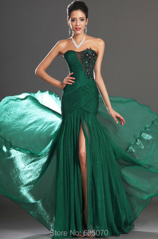 Online Get Cheap Emerald Green Prom Dress -Aliexpress.com...