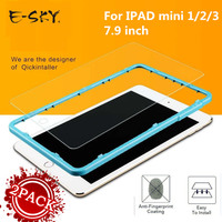 2 PACK E SKY For Apple IPad Mini1 2 3 Tempered Glass Film 9H Screen Protector