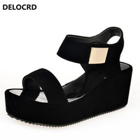 2018 New Gladiator Women Shoes Roman Sandals Shoes Women Sandals Peep Toe Flat Shoes Woman Sandalias