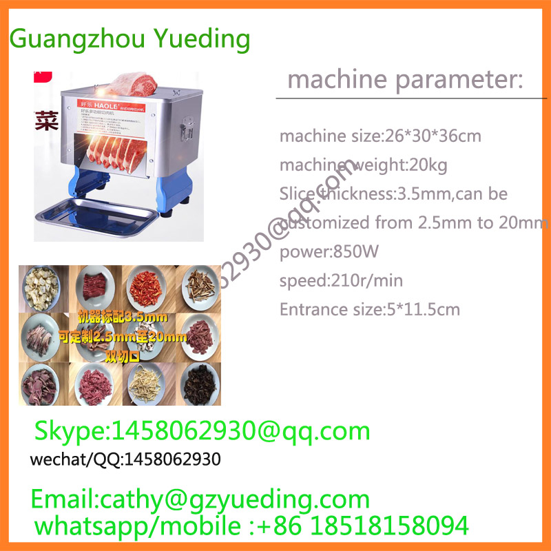 hot selling diced meat cutting machine/fresh beef chicken meat cube dicer garcinia as preservative of chicken meat