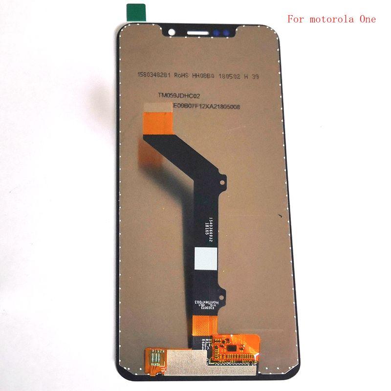 For Motorola Moto One  XT1941-1 XT1941-3 XT1941-4 Lcd Screen Display Touch Glass Digitizer 720x1520 for motorola one lcd  For Motorola Moto One  XT1941-1 XT1941-3 XT1941-4 Lcd Screen Display Touch Glass Digitizer 720x1520 for motorola one lcd