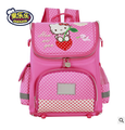 2016 Kids School Backpack Hello Kitty Anna Elsa Folded Orthopedic Children School Bags for Girls Mochila Infantil