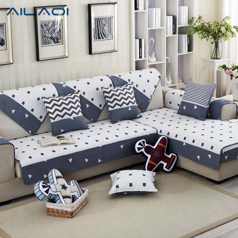 Ailaqi 100 Cotton Modern Sofa Cover Couch Slip Resistant Home Decor For Children