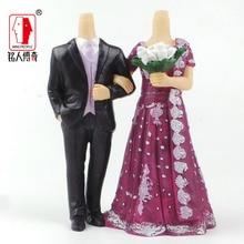 Wedding gift custom wedding Cake Topper Personalized Custom real doll custom clay dolls fixed resin body SR202