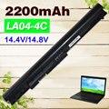 2200mAh Laptop Battery For HP LA04 for Pavilion 14 15 Series 15-B119TX 15-B003TX 15-B004TX HSTNN-IB5S HSTNN-YB5M