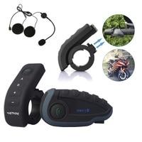 BT переговорные с пульта дистанционного управления домофон FM NFC 5 всадников Bluetooth мотоцикл домофон 1200 м intercomunicador V8 заездов