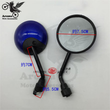10mm motorcycle rearview mirror for yamaha moto honda side mirrors suzuki parts kawasaki Harley Davidson Ducati