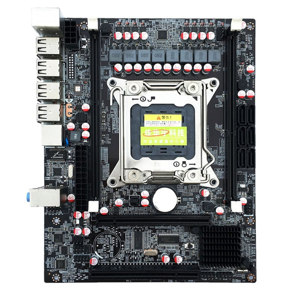 Motherboard Mainboard Intel X79 DDR2 LGA 2011 USB 2.0 218x168 boards 8GB ATX 4 Channels All Solid Board Support E5-2670 2650 free shipping new desktop motherboard new x79 with usb 3 0 support ecc ram mainboard lga 2011 all solid boards