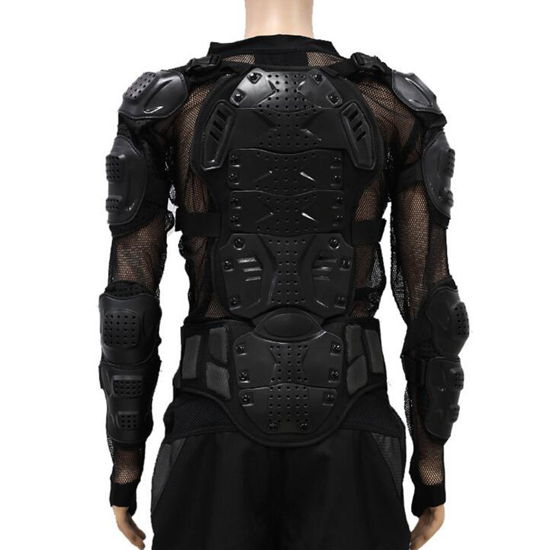 Motorcycle Armor Jacket Motorcross Racing Gear Spine Chest Protectors