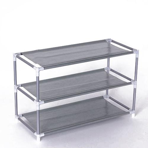 3 Layers removable door shoe storage cabinet shelf DIY shoes storage(China (Mainland)
