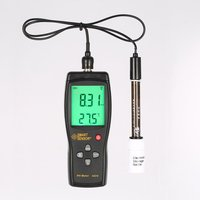 Meter AS218 Digital PH Meter Range 0.00~14.00pH Soil PH Tester Water PH Acidity Meter LCD Display Liquid PH