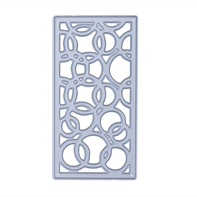 Hot Circle Window Frame Style DIY Cutting Dies Carbon Steel Stencil ...
