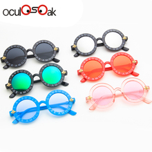 Oculosoak Steampunk Bee Kids Sunglasses Boys Girls Luxury Vi