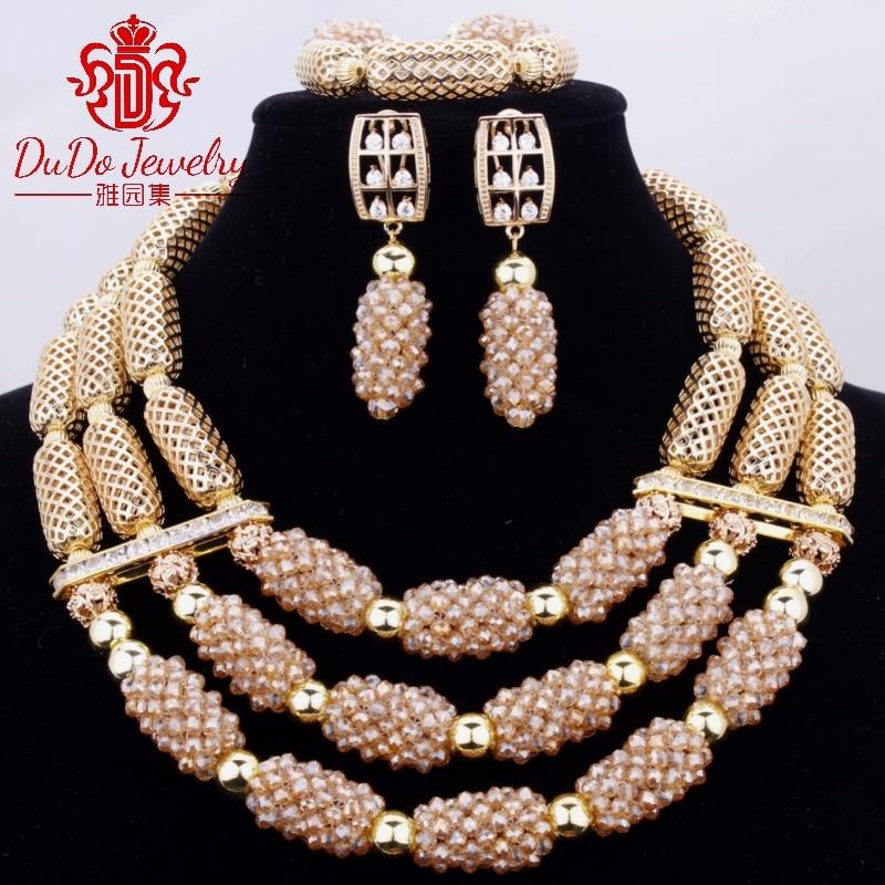 2017 новые коралловые ювелирные наборы нигерийский Дубай оранжевое ожерелье наборы из бисера африканские Свадебные Ювелирные наборы бренд б... - 2