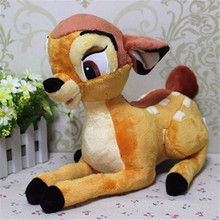 35 cm Mooie Anime Cartoon Kleine Herten Bambi Soft Gevulde Pluche Speelgoed Poppen Voor Kerst Cadeau
