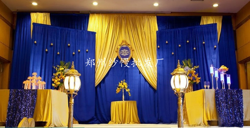 Online Buy Wholesale yellow swag curtains from China yellow swag ...