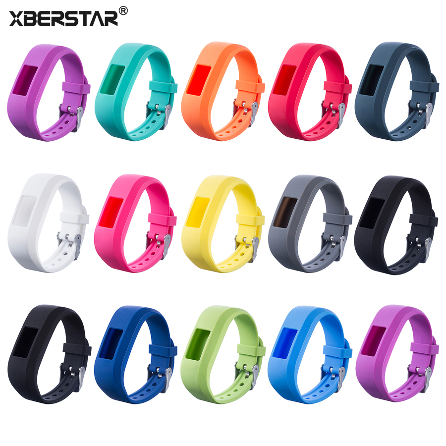 XBERSTAR Strap for Garmin Vivofit Jr 2 Replacement Watch Band Silicone Watchband garmin vivofit 2