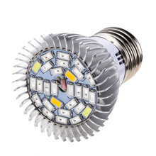 Full Spectrum 8W E27 Led Grow Light AC85-265V Led Growing Lamp for Hydroponics Flowers Plants Vegetables Growing