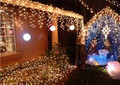 3.5 M LED curtain lights with 96 leds ,Christmas led net lights ,water proof led wedding light CL-010
