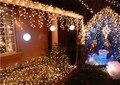 3.5 M luzes LED de cortina com 96 leds, Led luzes de natal net, À prova de água levou luz de casamento CL-010