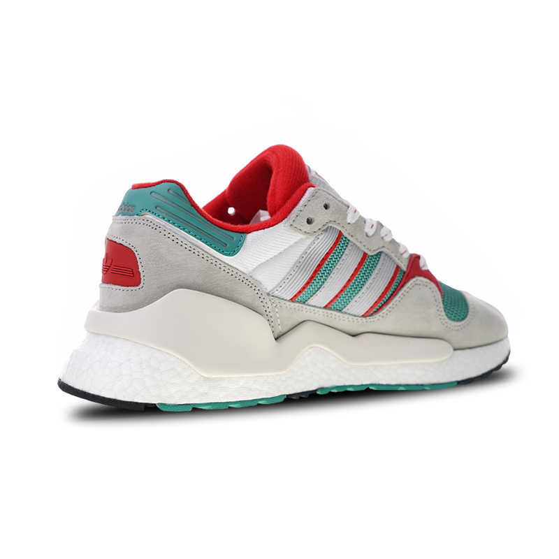 more photos e4178 22828 Adidas Originals EQT ZX Boost Sports Shoes Gray Green Red Running Shoes For  Men And Women G26806 36-45 EUR Size U