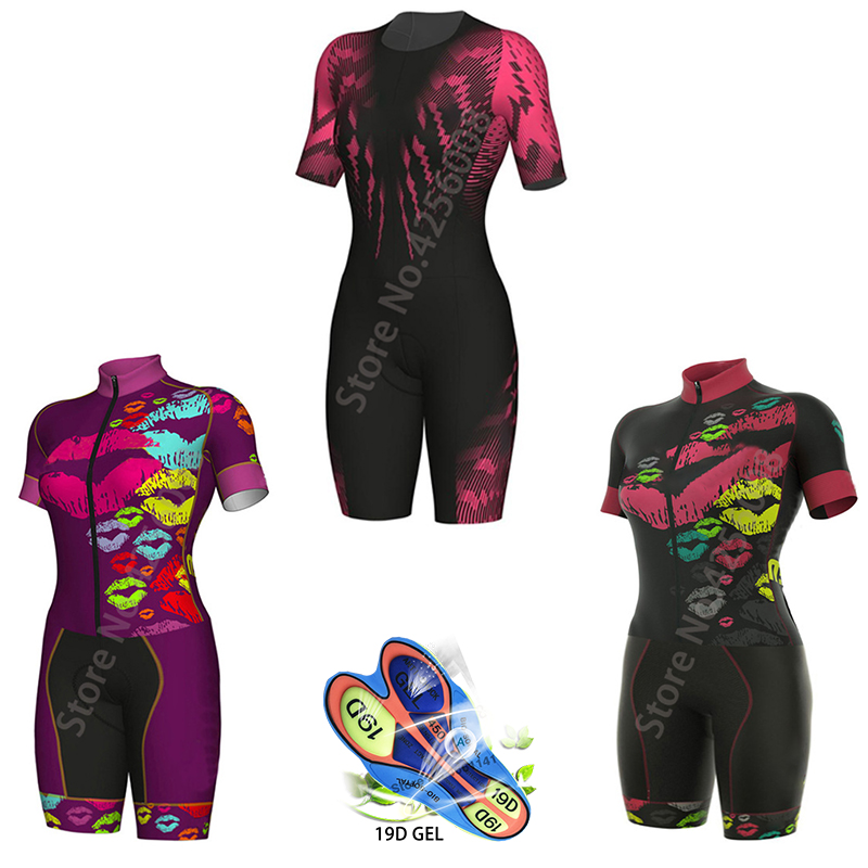 Aleing Tkoff Women Cycling Jersey Pro Cycling Clothes Suits MTB Cycling Clothing Summer Bike Uniform Triathlon Cycling Sets 2019