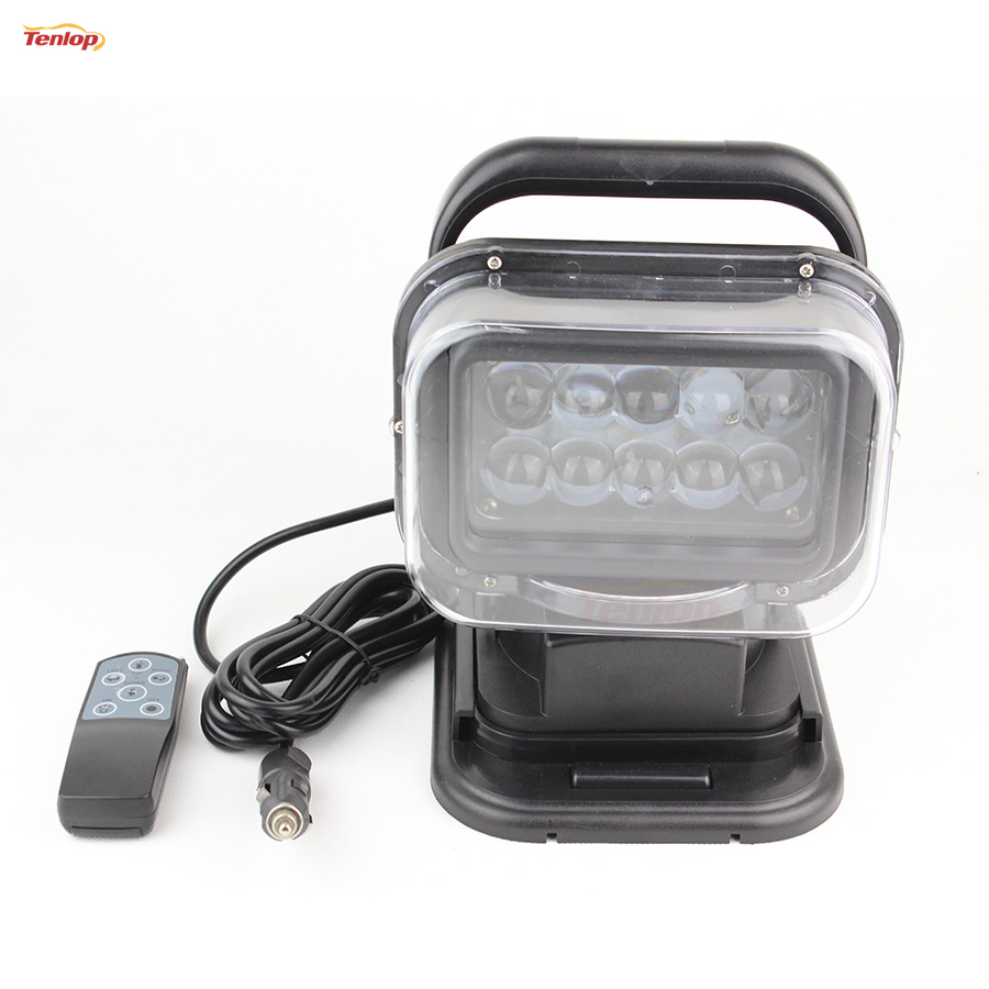 Hot Sale Rotatable 50W LED Searching Light With Magnetic Base For 4*4 SUV Car Boat Household Hunting12/24V зимняя шина nokian hakkapeliitta r2 suv 245 50 r20 106r