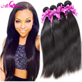 "Cambodian Straight Virgin Hair 4 Bundle Deals Cambodian Virgin Hair ""6-28"" inch Straight Human Hair Weave Virgin Cambodian Hair"