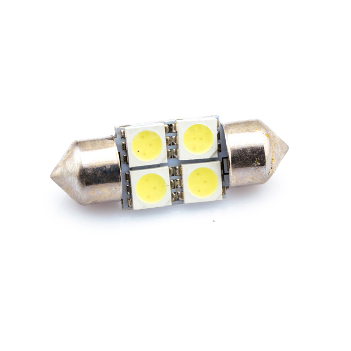 где купить White 31 36 39 41mm 5050 SMD 4 LED Bulb DC12V Car Auto C5W Interior Dome Reading Lights Lamp Festoon по лучшей цене