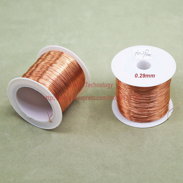 100Grams/lot) Polyurethane Enameled Copper Wire Diameter 0.29MM ...